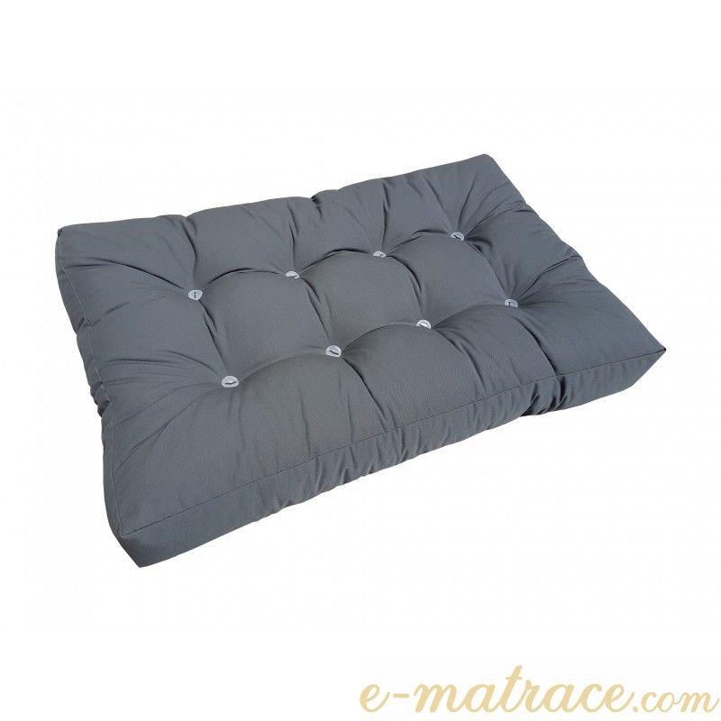 set polstrov n na pohovku z palet 120 x 80 cm antracit e. Black Bedroom Furniture Sets. Home Design Ideas