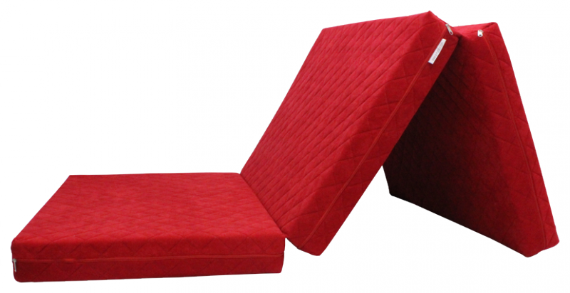 e-matrace.com Skládací matrace Deluxe Strawberry - 10 cm