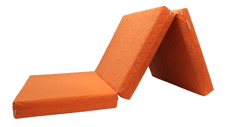 e-matrace.com Skládací matrace Deluxe Orange - 10 cm