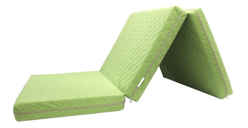 e-matrace.com Skládací matrace Deluxe Limet - 90x195x10 cm