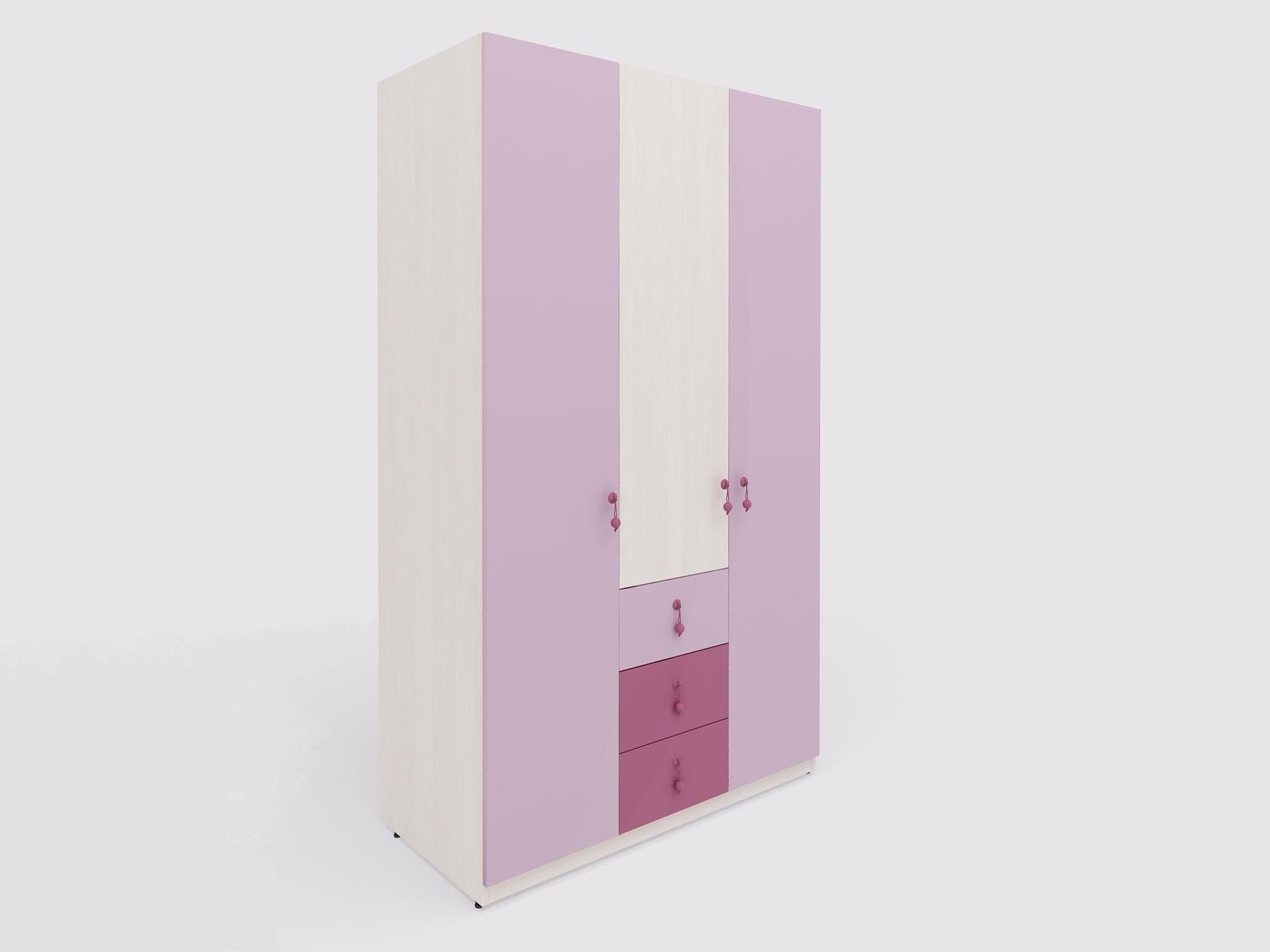 Lenza Dětská kombinovaná šatní skříň Mia 123x210x60 cm