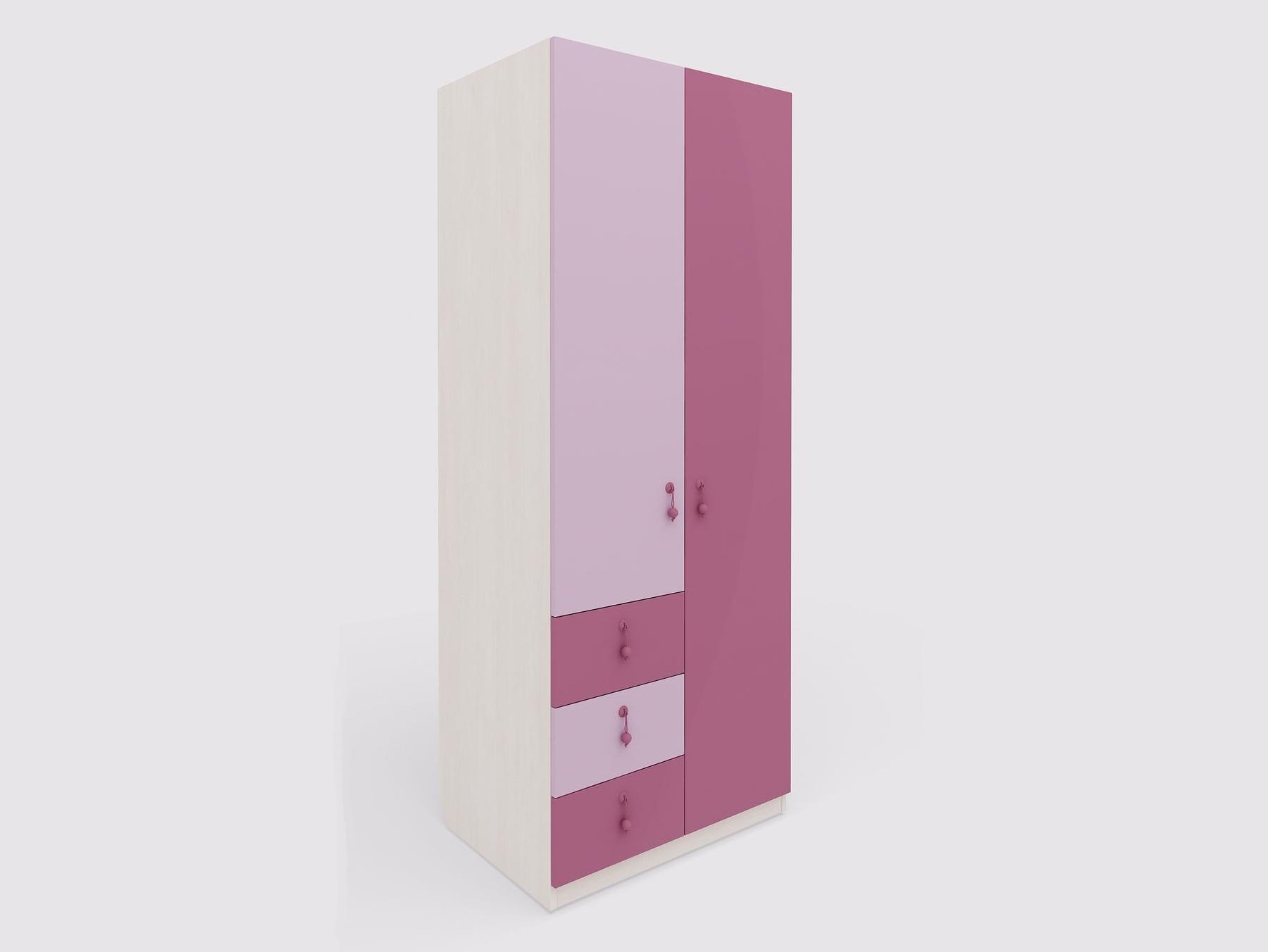 Lenza Dětská skříň Mia 82x210x60 cm