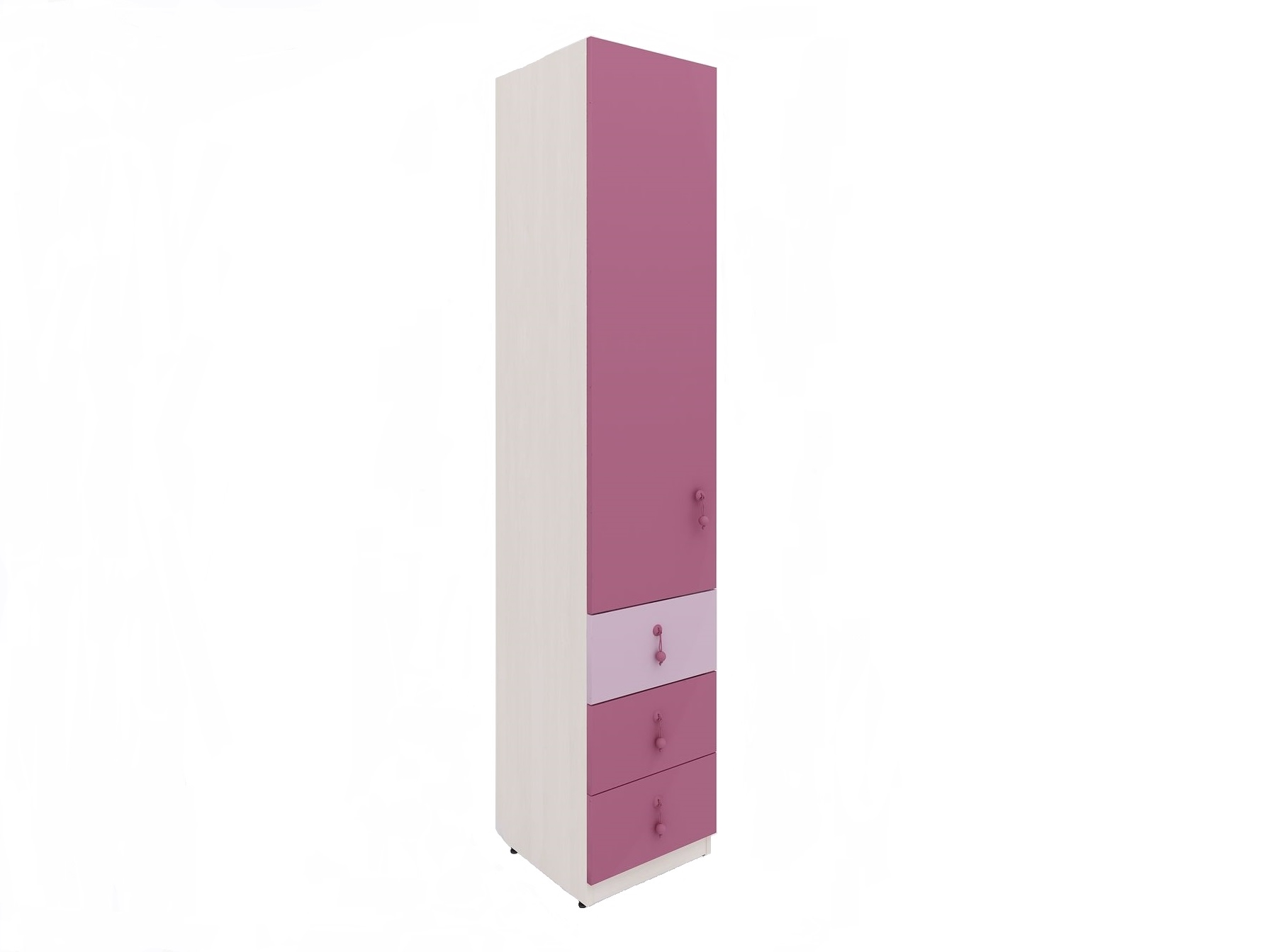 Lenza Dětská skříň Mia 41 x 210 x 45 cm
