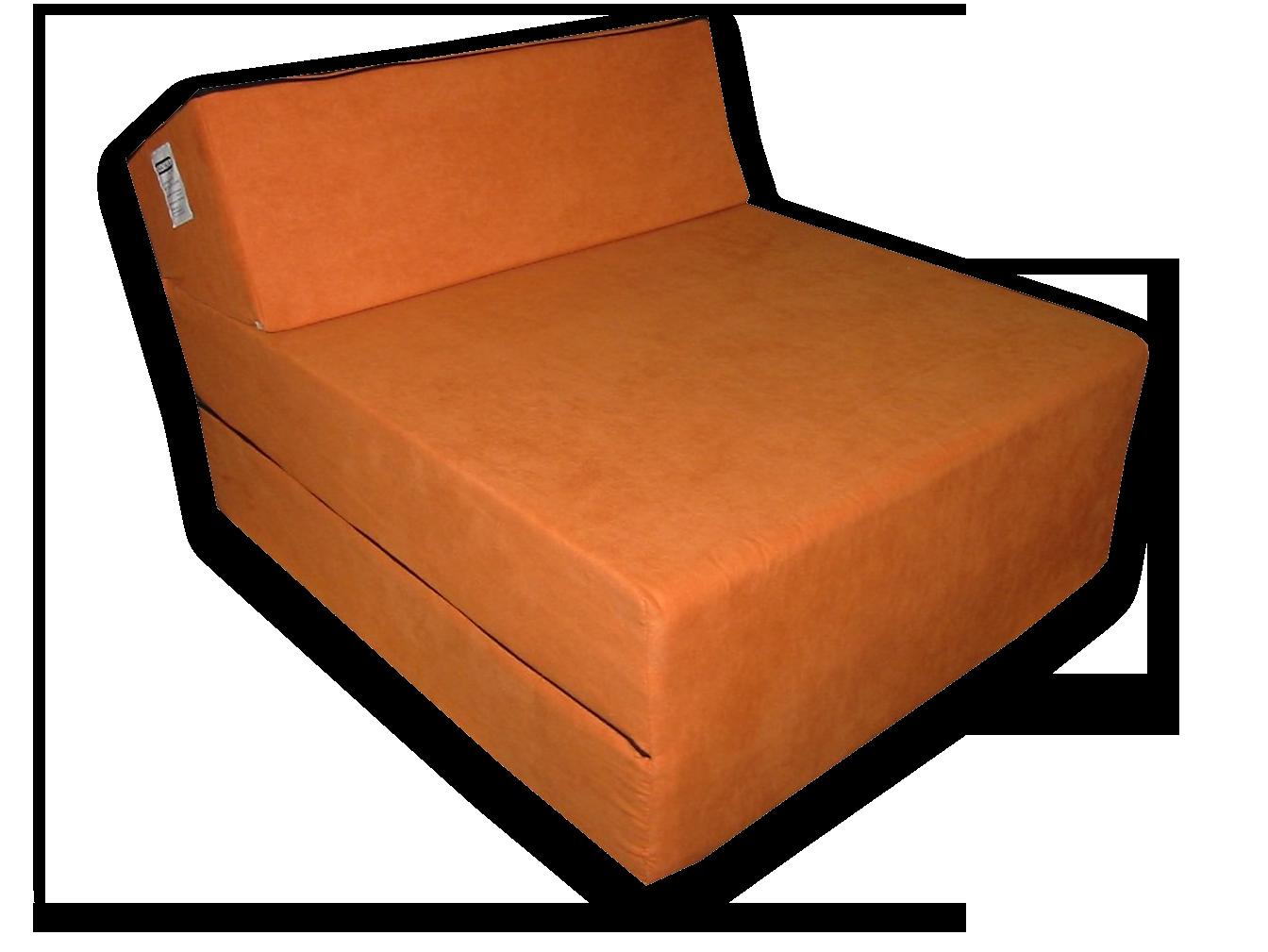 Natalia Dětské rozkládací křeslo - oranžové