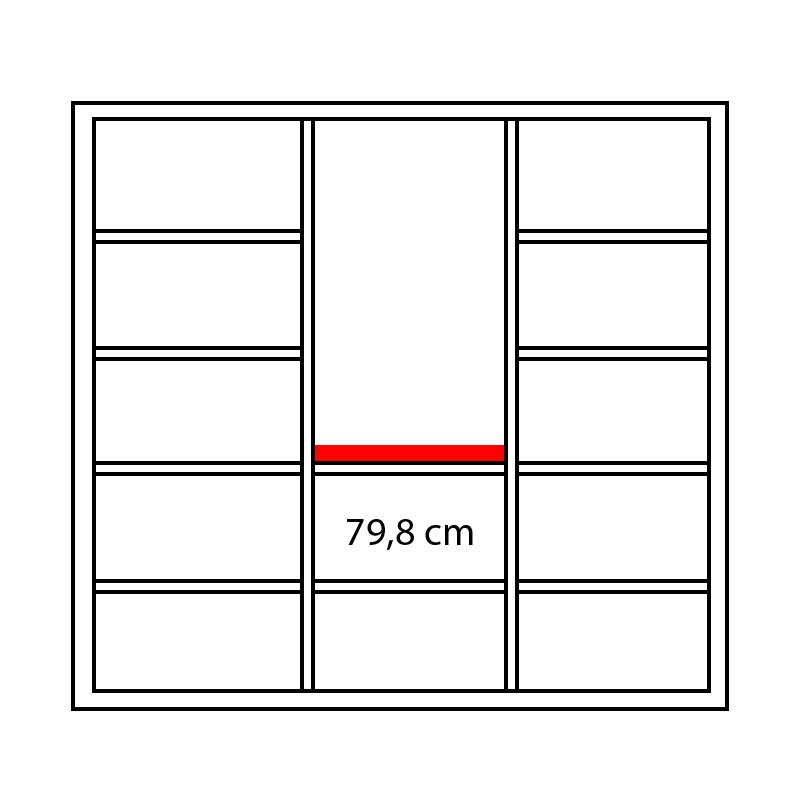 Lenza Horní obkladová deska Wels Š 79,8 cm