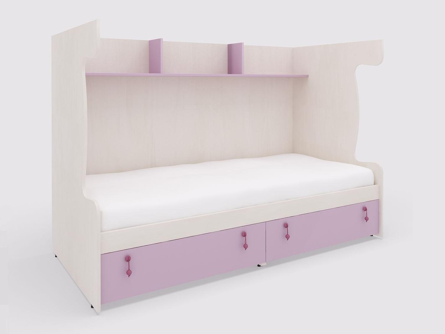 Lenza Korpus pro patrovou postel Mia se šuplíky 203x140x95 cm