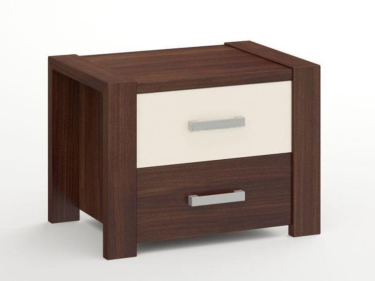 MebloBed Noční stolek Bergamo - borovicový masiv