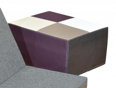 Purtex Obal na skládací matraci 65x200x8 cm - taburet