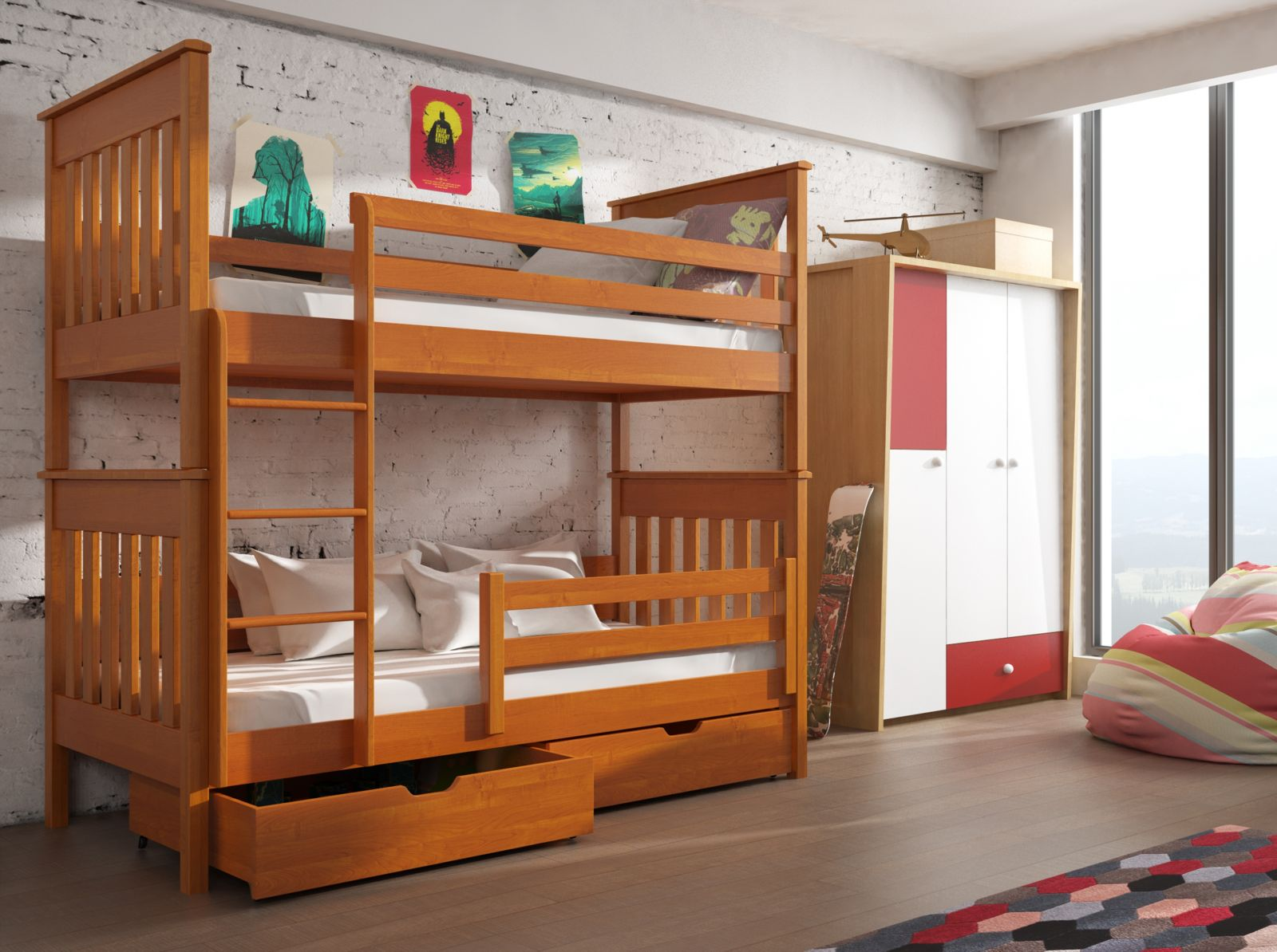 Lano Meble Patrová postel Bruno