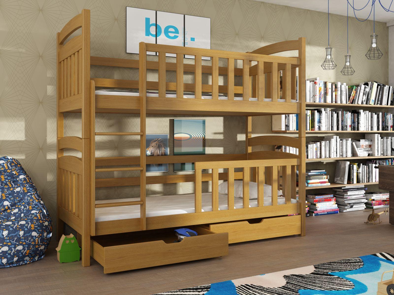 Lano Meble Patrová postel Sebus