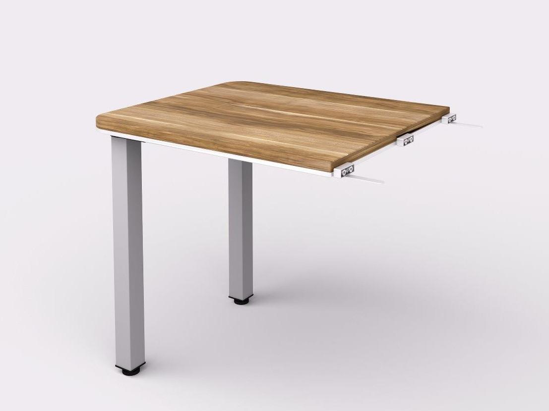 Lenza Přístavný kancelářský stůl Wels na kovových nohách