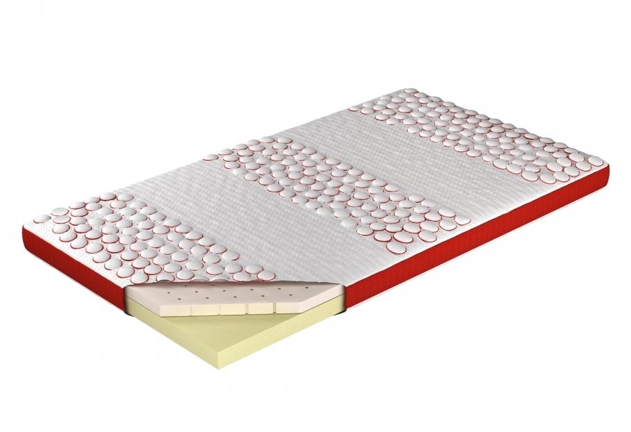 Meble Marzenie Přistýlka Toplatermo 9 cm (latex + visco) 180x200 cm