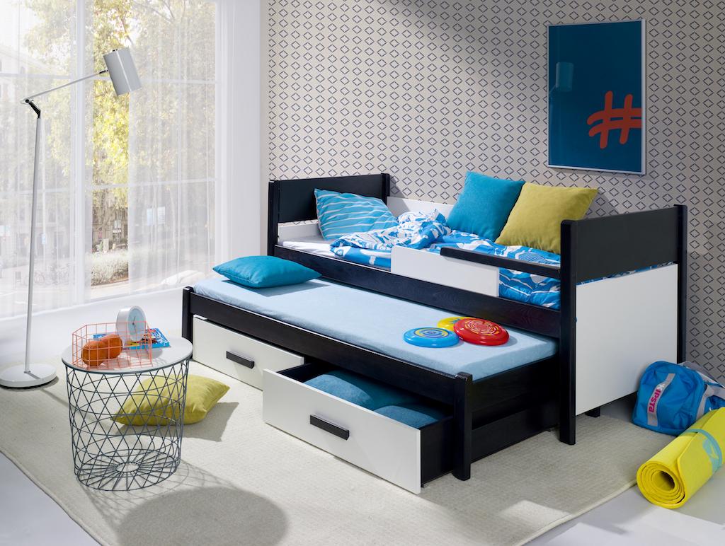 MebloBed Rozkládací postel Danilo s úložným prostorem
