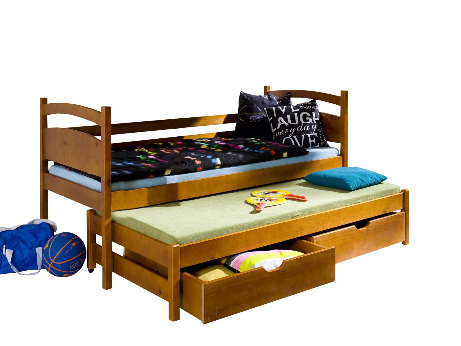 Lano Meble Rozkládací postel Kleo s úložným prostorem