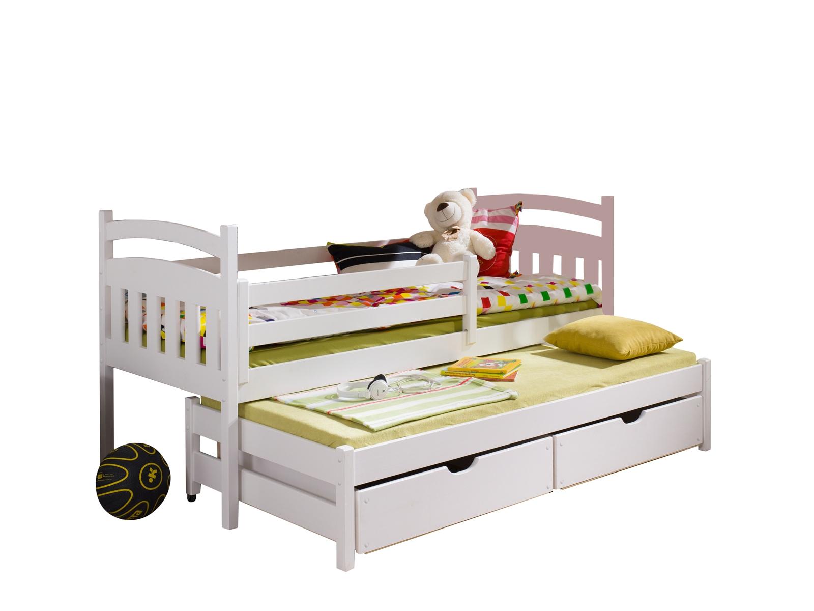 Lano Meble Rozkládací postel Martina s úložným prostorem