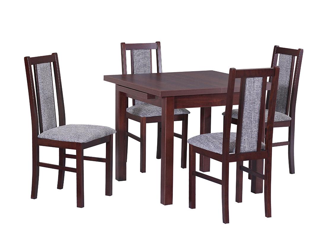 DREWMIX Sestava stůl Max VII + židle Boss XIV