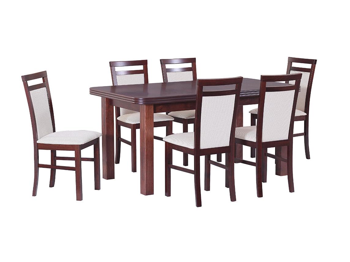 DREWMIX Sestava stůl Wenus V + židle Milano V