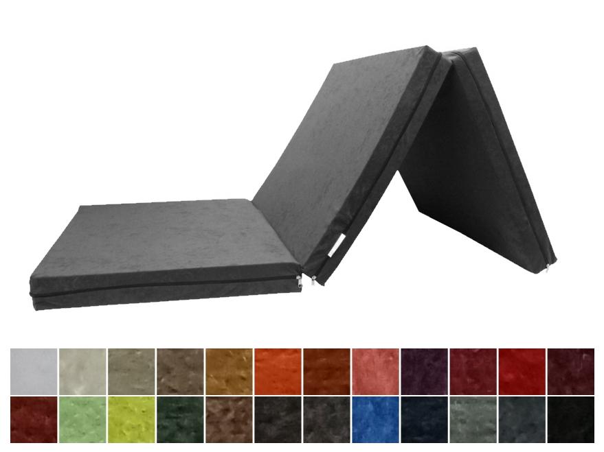 e-matrace.com Skládací matrace pro hosty 8 cm