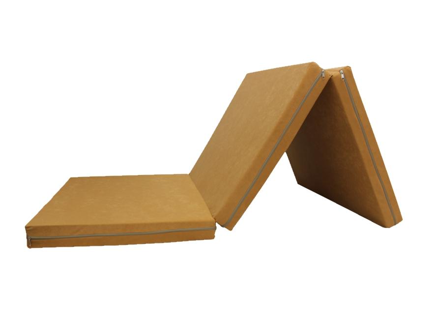 e-matrace.com Skládací matrace pro hosty béžová 8 cm 80x195 cm