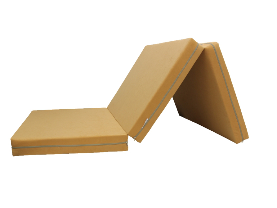 e-matrace.com Skládací matrace pro hosty béžová 10 cm