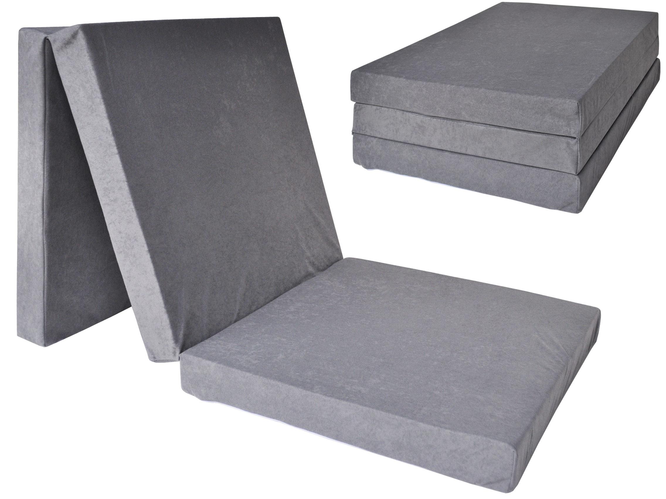 Fimex Skládací matrace pro hosty Fun šedá