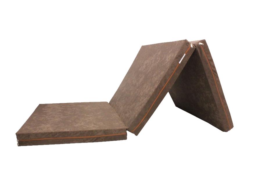 e-matrace.com Skládací matrace pro hosty hnědá 8 cm