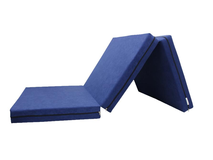 e-matrace.com Skládací matrace pro hosty modrá 10 cm