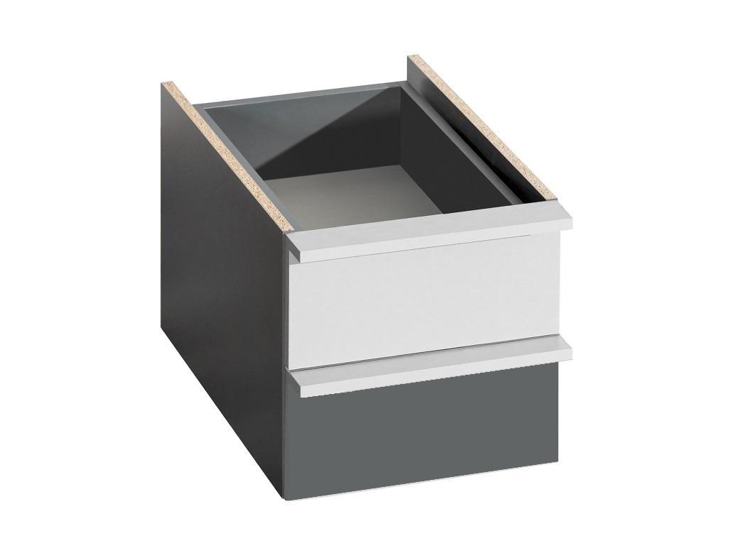 Dolmar Šuplíky Cubico CU2 Antracit / aluminium b9605c2388eb06db034437c4849b7a46